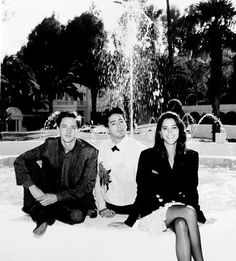 """Less Than Zero"" cast: Andrew McCarthy, Robert Downey Jr., Jami Gertz (1987)."