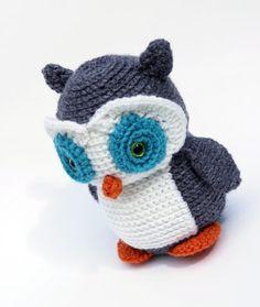 Maria the Owl Crochet Amugurumi by K8CsCritters on Etsy, $30.00
