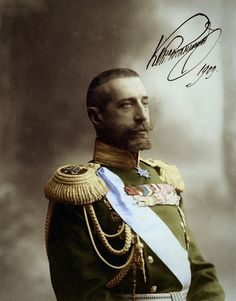 Grand Duke Constantine Constantinovich of Russia