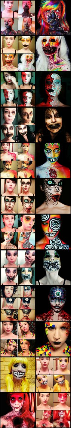 Makeup Transformations by Stephanie Fernandez - Halloween next year?