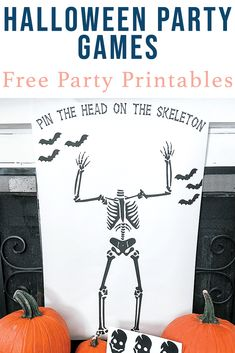 Download this fun Halloween Party Game from Everyday Party Magazine #Halloween #PartyGame #EngineerPrints
