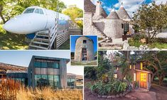 Airbnb's international appeal is the wide variety of properties it offers - as some of its more unusual listings have proved. These are its quirkiest rentals, from Hawaii to France.