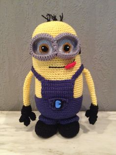 Pattern: Despicable Me Minion - All About Ami My Minion, Minions, All About Ami, Pattern Design, Free Pattern, Despicable Me, To My Daughter, Crochet Hats, How To Make