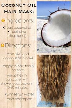 Coconut Oil Hair Mask