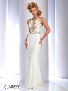 Long Pageant Dresses Ivory