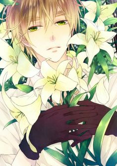 You laying there with a bunch of lilies isn't going to help you with your fangirl problems Iggy