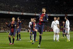 FC Barcelona 1-3 Real Madrid | Piqué se lamenta de una ocasión fallada. [26.02.13]