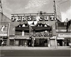 The Pussycat Cinema in Times Square 1987