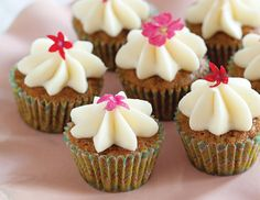 Nancy Reppert's Carrot Cake Mini Cupcakes are a customer favorite at Sweet Remembrances in Mechanicsburg, Pennsylvania.