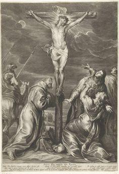 Pieter de Bailliu (I) | Christus aan het kruis met Maria en Maria Magdalena en Johannes de Evangelist en Franciscus van Assisi, Pieter de Bailliu (I), Jan Davidsz. de Heem, Joan Caspeel, 1623 - 1660 |