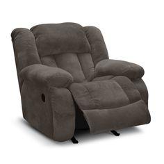 Living Room Furniture - Park City Glider Recliner