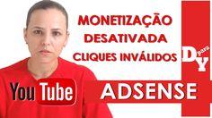 MONETIZAÇÃO DESATIVADA POR CLIQUES INVÁLIDOS YOUTUBE - Dicas Para Youtubers