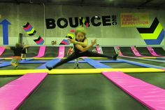 Bounce Inc Tingalpa is Brisbane's biggest indoor playground – a massive warehouse with wall to wall trampolines and the best fun imaginable. Bounce Inc Tingalpa - Bounce has more than 100 interconnected trampolines where the young and young at heart can jump, bounce and bop until they drop. 40 Enterprise Pl Tingalpa Mon-Thu 10-9 Fri 10-11 Sat 9-11 Sun 9-9 1 300 000 540
