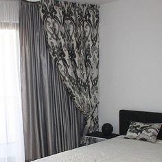 Závěsy do ložnice v moderním stylu, modern bedroom curtains