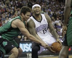 Rudy Gay (6'8''-F/G-86, college: Connecticut) scored eight of his 22 points over the final six minutes, Isaiah Thomas added 21 points and matched his career high with 12 assists, and the Sacramento Kings beat the Boston Celtics 105-98 on Saturday night.