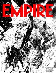 Batman Vs Superman ganha capa de revista ilustrada por Jim Lee | Versão é exclusiva para assinantes - #Batman #Superman #HQ