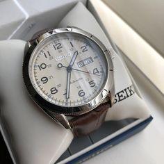 [Seiko] My new automatic Seiko SRP713 via /r/Watches