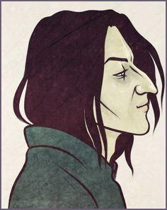 Snape by Anastasia Mantihora