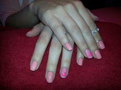 my pink nails