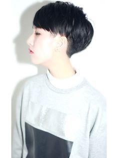 HAIR & MAKE JOJI 【ジョジ】 黒髪ショート×セミウエット☆