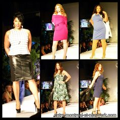 @Retailer / Boutique Runway Showcase Full Figure Fashion, Fashion Week 2015, Full Figured, Leather Skirt, Runway, Retail, Boutique, Skirts, Cat Walk