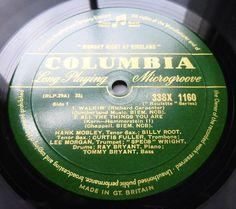 HANK MOBLEY/LEE MORGAN Monday Night At Birdland (1958) UK COLUMBIA - NEAR MINT