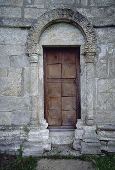 Door to Alstahaug church, built in 1150s, Norway.  My Leines Great-Grandparents were married at this church.
