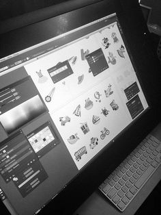 Our work on Cintiq 24HD.