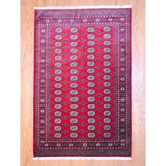 @Overstock - Update your home decor with the unmatched style of a hand-knotted Bokhara rug. This rug features rich color tones in red, ivory, black, olive, and beige making sure it will become a cherished family heirloom.http://www.overstock.com/Worldstock-Fair-Trade/Pakistani-Hand-knotted-Bokhara-Red-Ivory-Wool-Rug-6-x-9/3825600/product.html?CID=214117 $599.99
