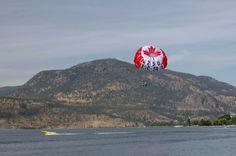Okanagan lake in Penticton/Kelowna area in BC Canada