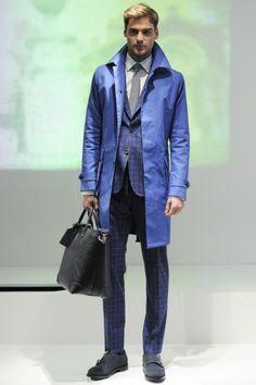 Sfilata Hardy Amies Milano Moda Uomo Autunno Inverno 2014-15 - Vogue