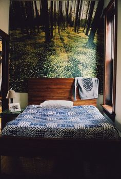 I want a tapestry like this behind our bed.