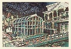 Proposed mid-'80s Haunted Mansion enhancements.