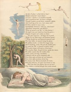 Night Thoughts of William Blake - 50 Watts William Blake Art, Songs Of Innocence, Angel Readings, English Poets, Google Art Project, A Course In Miracles, Heaven And Hell, Special Words, Literary Quotes