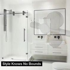 Vigo Shower Doors, Shower Door Hardware, Modern Bathroom, Small Bathroom, Shower Base, Aluminium Doors, Door Stopper, Shower Enclosure, Easy Install