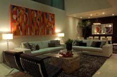 Sala, elegancia, moderno, arte, por Victoria Plasencia interiorismo Living Room Partition Design, Room Partition Designs, Interior Decorating, Interior Design, Relax, Decoration, Living Room Decor, Sweet Home, Art Deco