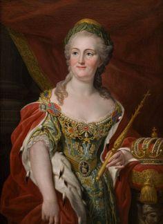 "Empress Ekaterina II of Russia, ""Catherine the Great."""