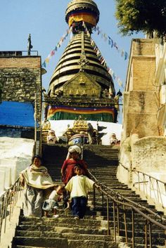 Swayambhunath Stupa - Kathmandu, Nepal on Flirck