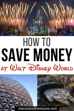 Planning a trip to Walt Disney World on budget? There are so many easy ways to save money at Walt Disney World in Orlando, Florida. Find out my top Disney World budget tips, including where to stay, what to eat, and what to do at Disney World. Disney World Florida, Walt Disney World Vacations, Family Vacation Destinations, Disney Trips, Disney Travel, Disney Money, Travel Destinations, Disney Parks, Disney Food