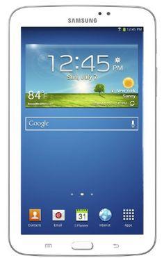 """Samsung Galaxy Tab 3 7.0 - Tablet de 7"""" (WiFi, 8 GB, 1 GB de RAM, Android Jelly Bean 4.1.2) Blanco (Importado de Francia) B00DB1NGQ0 - http://www.comprartabletas.es/samsung-galaxy-tab-3-7-0-tablet-de-7-wifi-8-gb-1-gb-de-ram-android-jelly-bean-4-1-2-blanco-importado-de-francia-b00db1ngq0.html"""
