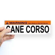 CANE CORSO Bumper Bumper Sticker for