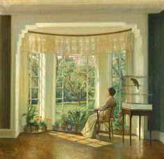 Peinture de Carl Vilhelm Holsoe