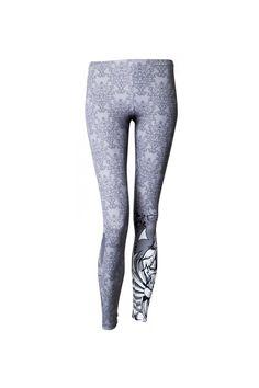 Fitness legíny Owl Samurai Fitness, Samurai, Owl, Sweatpants, Fashion, Moda, Fashion Styles, Owls, Fashion Illustrations