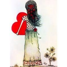 """""""Cuide bem do seu amor, seja quem for.."""" ❤️ #ilustração #drawing #illustration"""