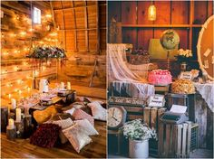 Country barn fall wedding ideas / http://www.deerpearlflowers.com/country-rustic-fall-wedding-theme-ideas/
