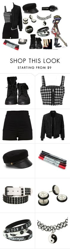 """""""[The Plastic Creating People]"""" by coffeeismysoul ❤ liked on Polyvore featuring Atwell, Zara, WearAll, River Island, LE3NO and Eugenia Kim"""