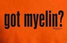 multiple sclerosis. www.justkeepsmyelin.com