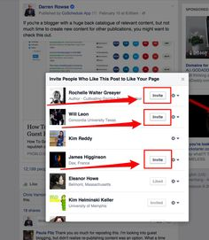 Recently while on Facebook I came across a quick technique for growing your Facebook page likes that was shared in a private Facebook group that I'm a part of. It came from Helen Edwards from Recycled Interiors (thanks Helen) and I think would be particularly useful for anyone with a smaller to medium-sized Facebook page. In …