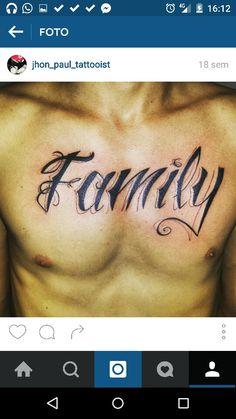 Tattoo ( caligrafia )