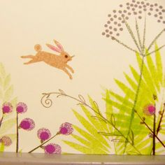 marks & spencer easter package design leaping bunnies (detail)